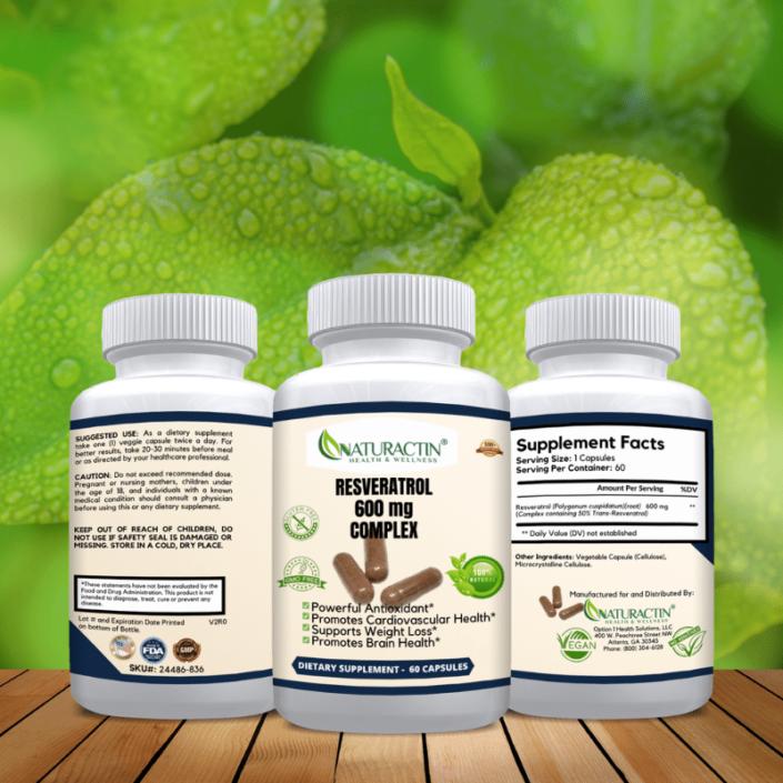 Resveratrol 600 MG Complex