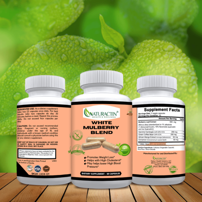 White Blueberry Blend Supplement