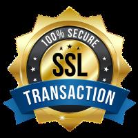 SSL 100 PERCENT SECURE PAYMENT
