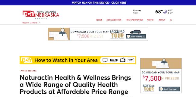 NCN Naturactin Health and Wellness