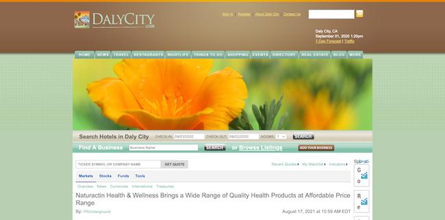 Dalcity Naturactin Health and Wellness